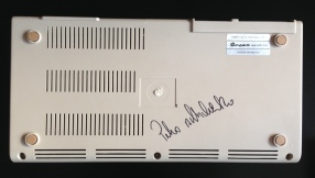 Signierte Unterseite DreanC64