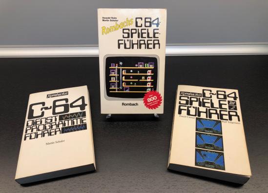 Die Rombach Trilogie für den C64