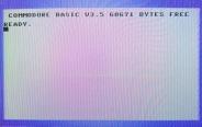 Commodore C16 - Einschaltmeldung